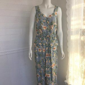NWT Dex Floral Jumpsuit Summer/Vacation/2138
